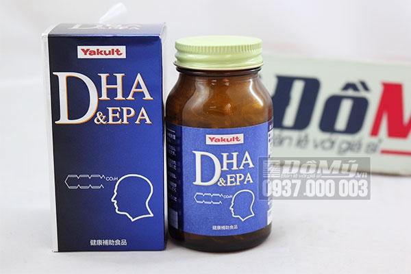 Thuốc bổ não DHA & Epa Yakult chứa DHA giúp ngăn ngừa, làm chậm quá trình lão hóa của bộ não