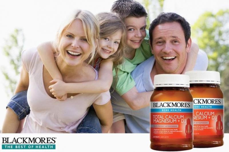 Blackmores Total Calcium Magnesium + D3 là một sự kết hợp hỗ trợ trong phòng chống và điều trị loãng xương do thiếu hụt canxi.