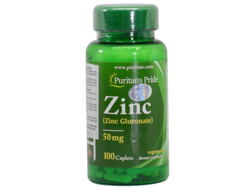 Thuốc bổ sung kẽm Puritant's Pride Zinc Chelate 50mg