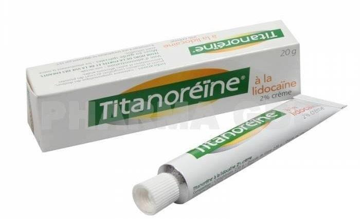 Thuốc bôi trị trĩ Titanoreine có tác dụng hỗ trợ làm giảm các chứng đau rát, ngứa, cảm giác xung huyết trong trĩ bùng phát