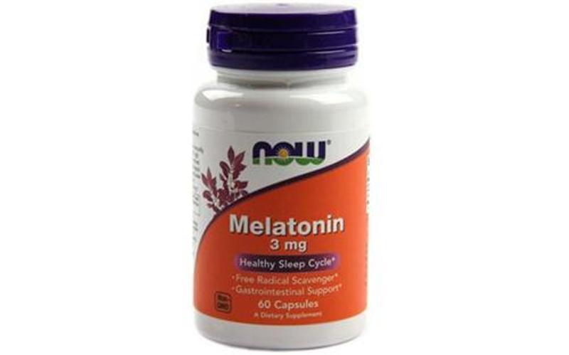 Thuốc chữa mất ngủ Now Melatonin 3mg 60 viên:
