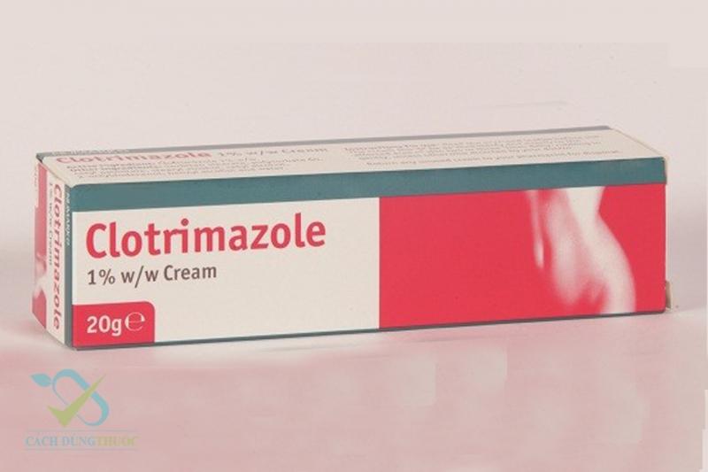 Thuốc Clotrimazole