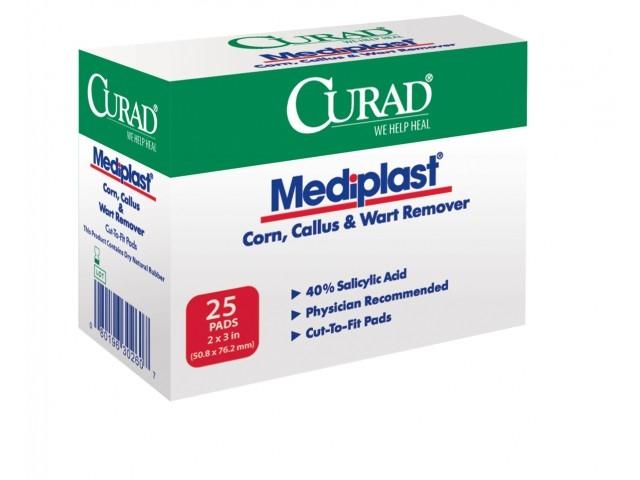Curad Mediplast gồm 25 miếng dán tiện lợi