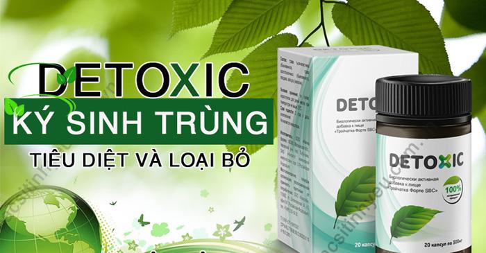Detoxic là sản phẩm được nghiên cứu và sản xuất tại Nga nhằm mục đích giúp loại bỏ mùi hôi ở miệng và mang lại cảm giác sảng khoái cho người dùng