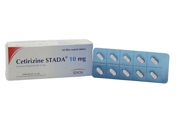 Cetirizine STADA là một trong những sản phẩm chống dị ứng tốt nhất hiện nay
