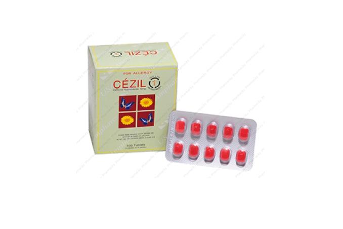 Thuốc Cezil được bào chế dạng viên bao phim