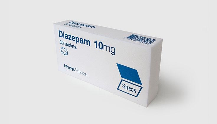 Diazepam là một thuốc hướng thần có tác dụng làm giảm căng thẳng, kích động, lo âu
