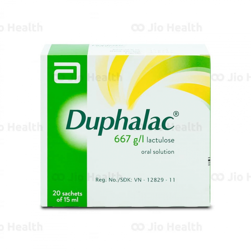 Thuốc điều trị táo bón Duphalac