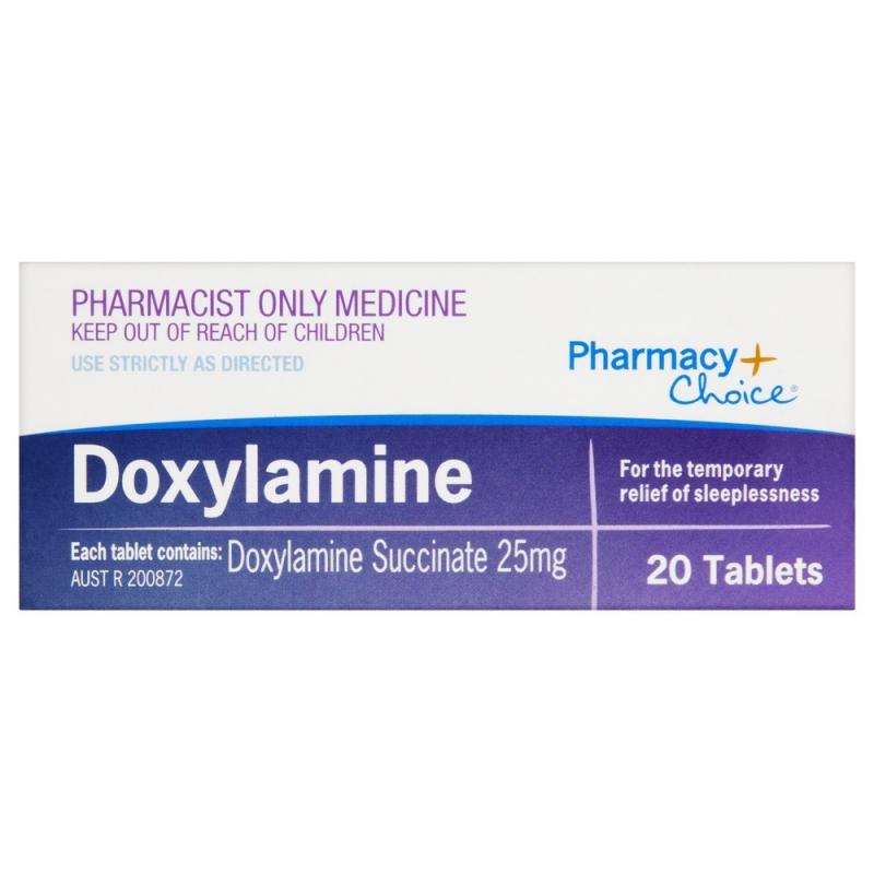 Doxylamine là một loại kháng histamin được sử dụng