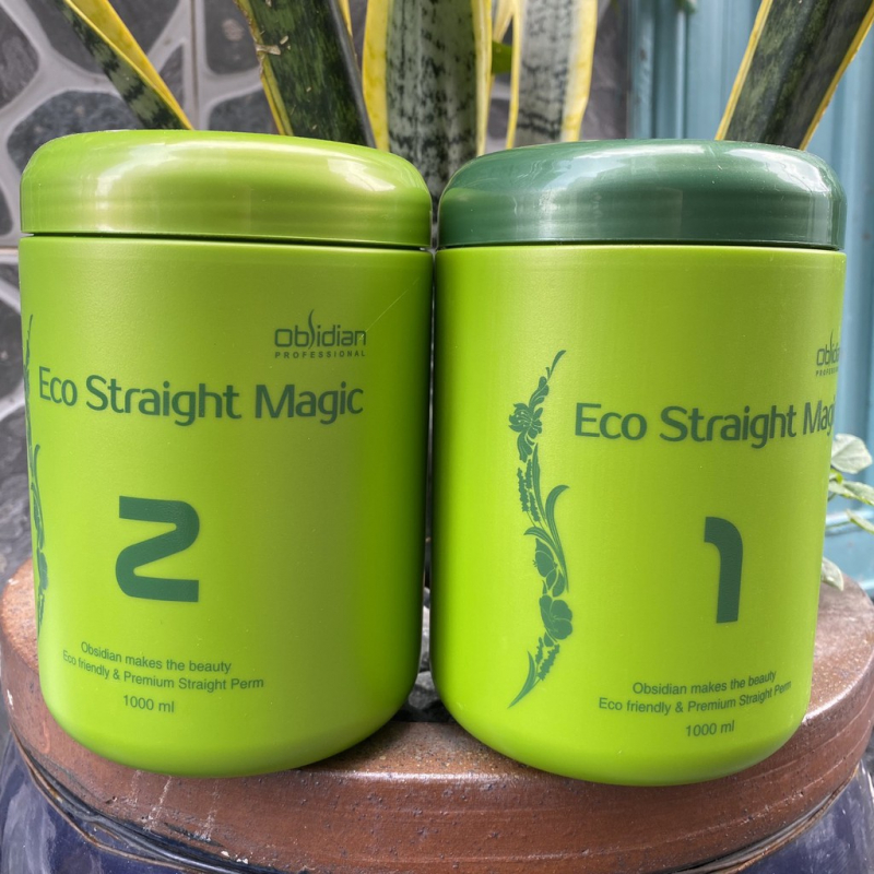 Thuốc duỗi tóc Eco Straight Magic