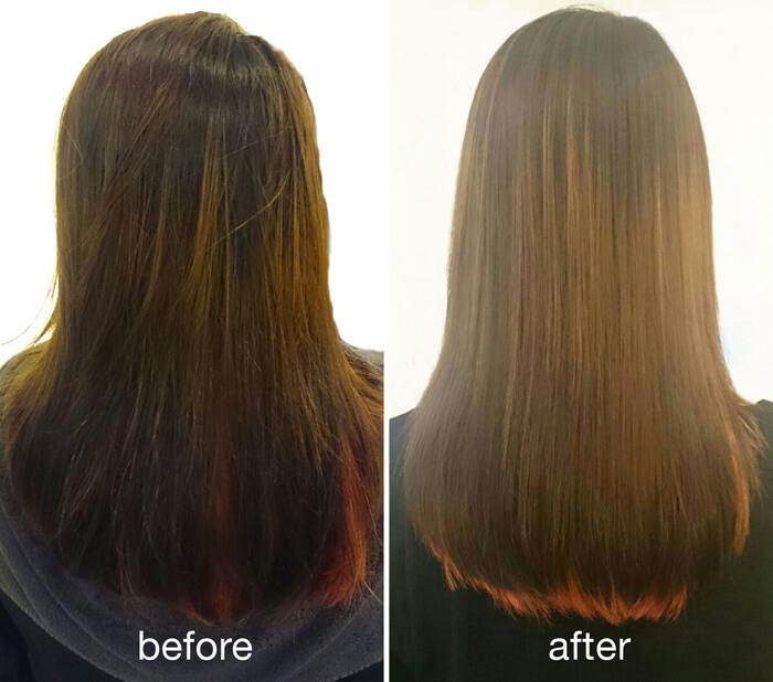 Thuốc duỗi tóc Keratin Collagen