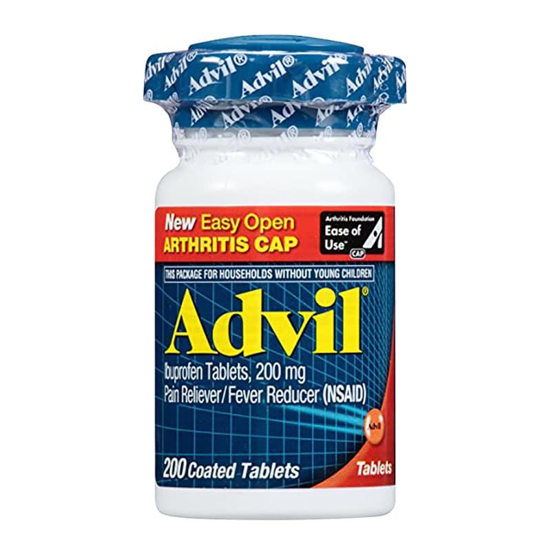 Thực phẩm chức năng Thuốc giảm đau Advil 200mg Easy Open Arthritis Cap 200 viên