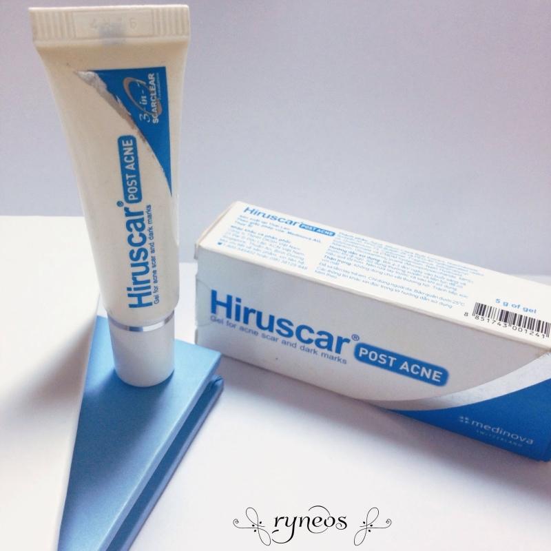 Thuốc làm mờ sẹo Hiruscar