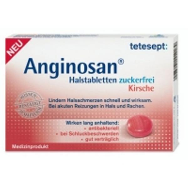 Thuốc ngậm viêm họng của Đức Anginosan