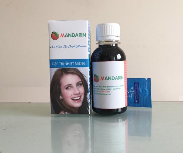 Thuốc nhiệt miệng Mandarin