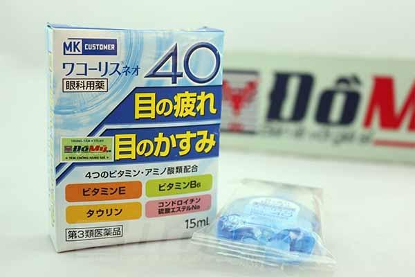Nhỏ mắt 40 MK Customer Nhật Bản tăng khả năng lưu thông máu