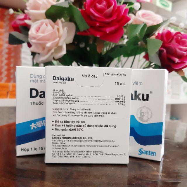 Thuốc nhỏ mắt Daigaku chống và điều trị mỏi mắt