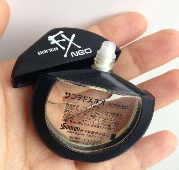 Thuốc nhỏ mắt Nhật Sante FX Neo với thành phần chứa nhiều vitamin giúp làm sạch (rửa mắt) và cắt cơn mệt mỏi, viêm nhiễm, đau mắt....