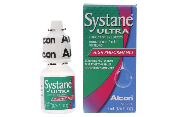 Thuốc nhỏ mắt làm giảm các triệu chứng kích ứng mắt