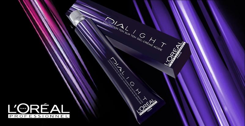 Thuốc nhuộm màu phủ bóng tóc Nano Dialight Loreal