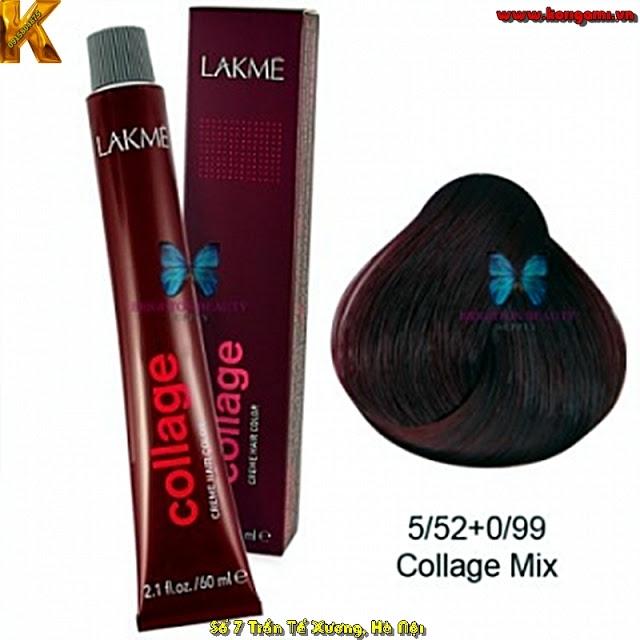 Thuốc nhuộm tóc Lakme Collage Tubo
