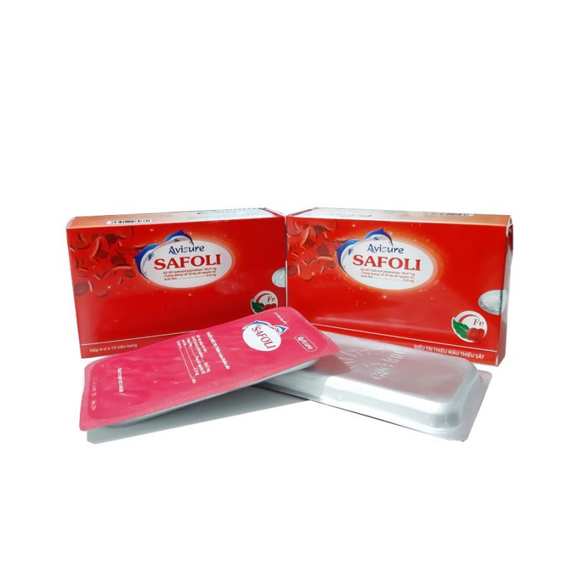 Thuốc sắt cho bà bầu Avisure Safoli là sản phẩm tại Việt Nam
