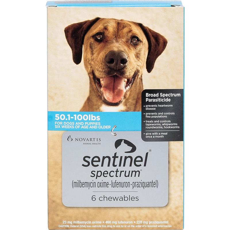 Thuốc tẩy giun cho chó Sentinel Spectrum