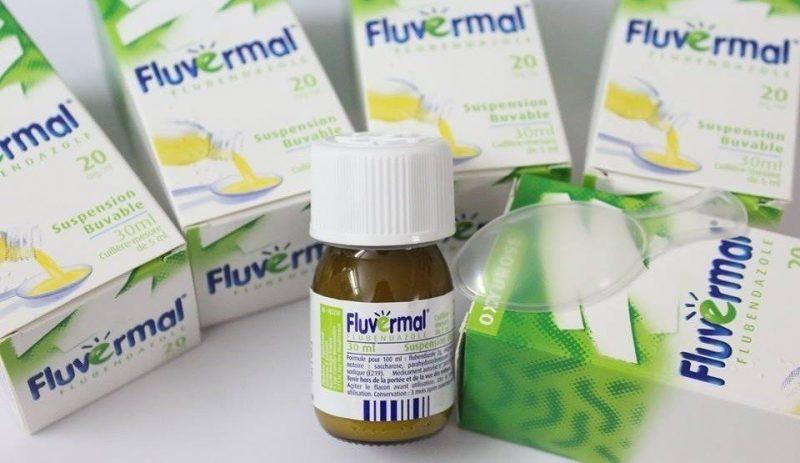 SIro tẩy giun Fluvermal 30ml – Pháp là sản phẩm tẩy giun tốt, hiệu quả mà an toàn
