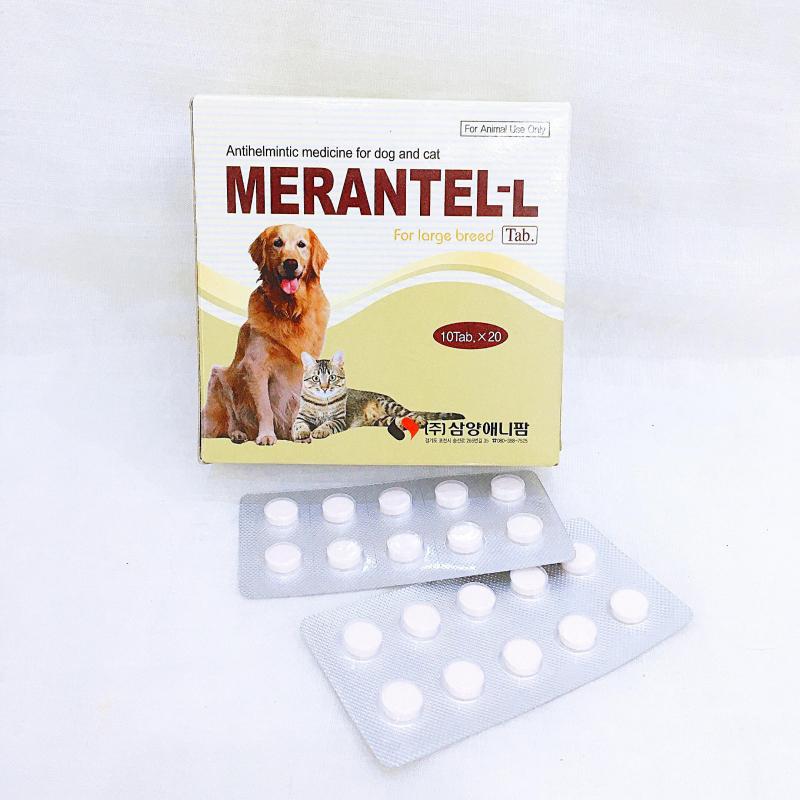 Thuốc tẩy giun Merantel-L