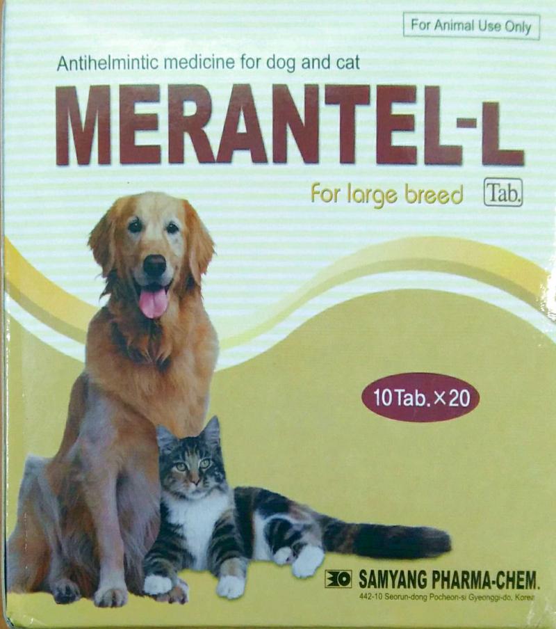 Thuốc tẩy giun Merantel - L