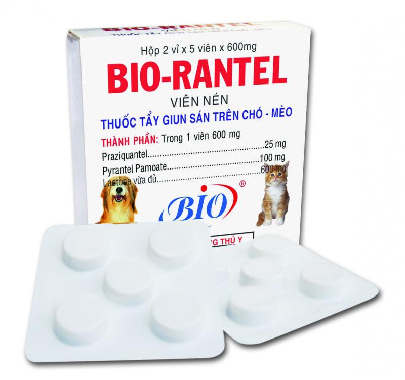 Thuốc tẩy giun sán Bio Rantel