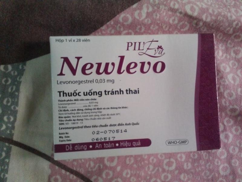 Thuốc tránh thai Newlevo