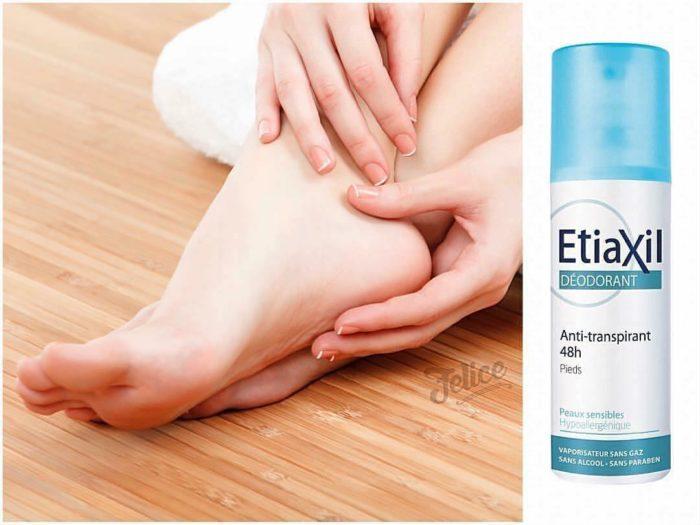 Lotion Etiaxil đặc trị mồ hôi chân được đánh giá là sản phẩm tốt nhất hiện nay