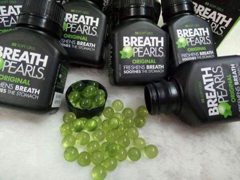 Viên ngậm thơm miệng Breath Pearls 50 viên của Úc chính là một sản phẩm chất lượng cao đến từ Úc