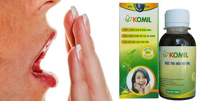 Chất lượng của Komil được các chuyên gia Nha Khoa Việt Nam đánh giá là sản phẩm trị hôi miệng hàng đầu
