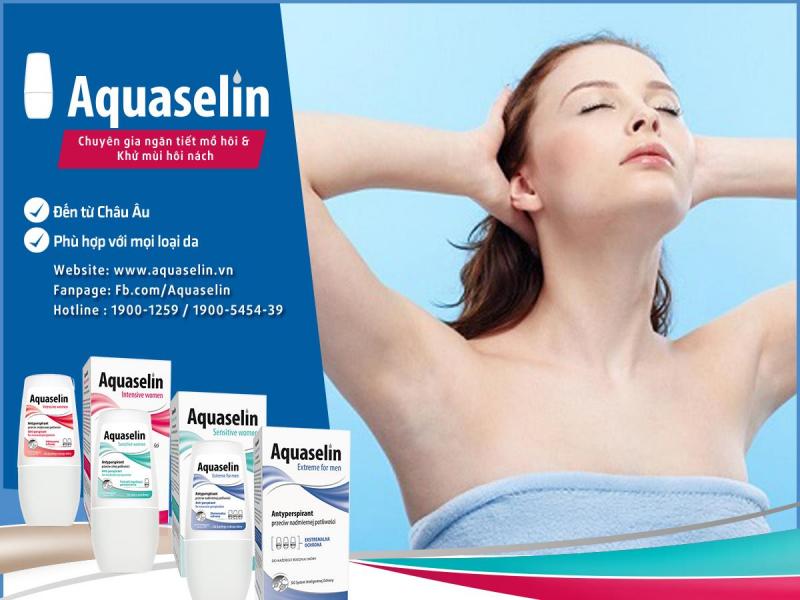 Lăn khử mùi Aquaselin dành cho nữ (20ml)