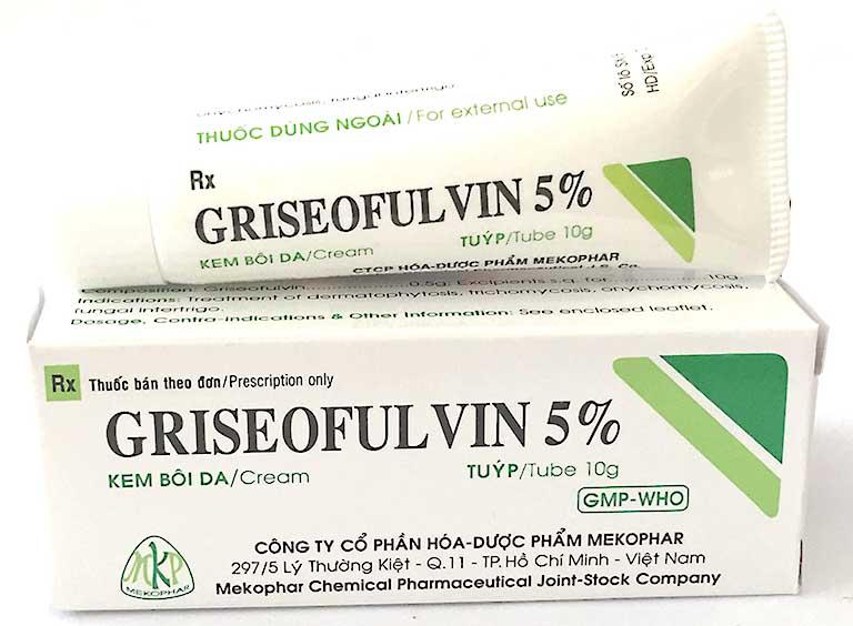 Thuốc trị lang ben Griseofulvin
