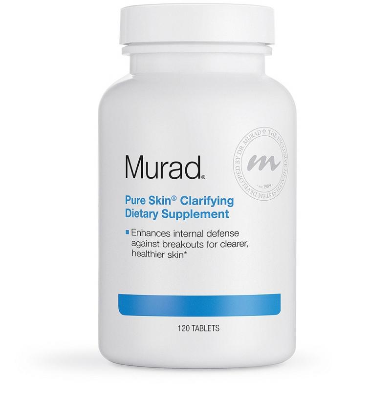 Thuốc trị mụn dạng viên uống Pure Skin Clarifying Dietary Supplement