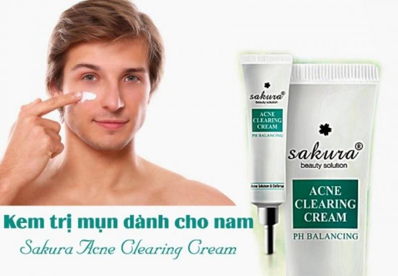 Thuốc trị mụn Sakura Acne Clearing Cream