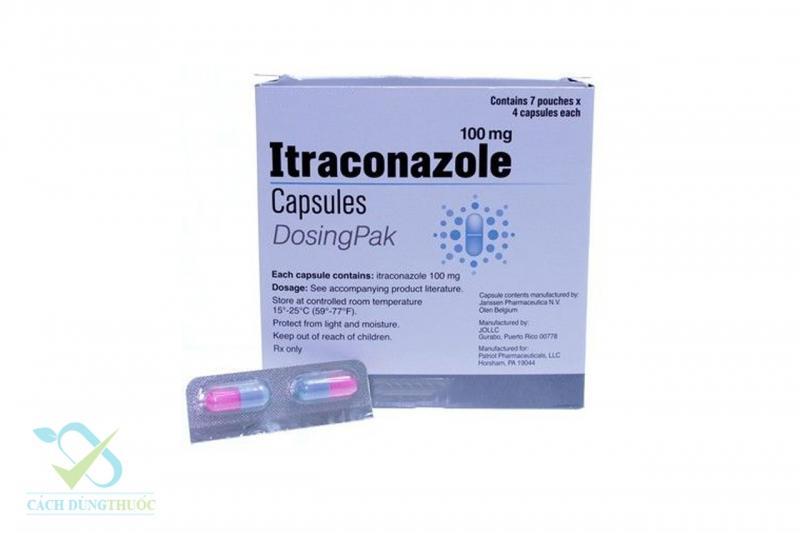Thuốc uống Itraconazole