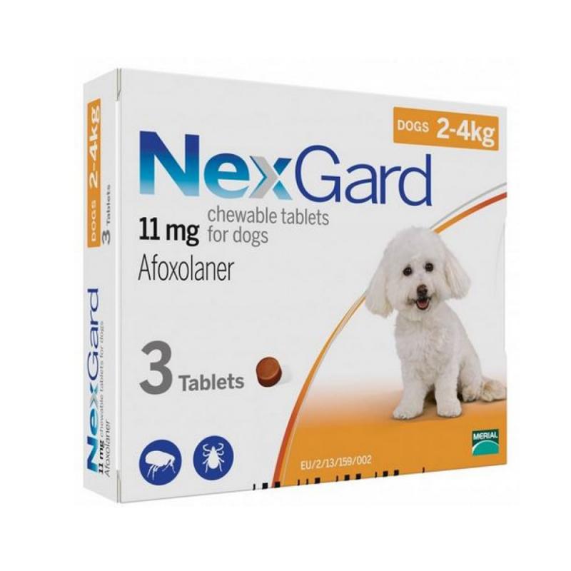Thuốc uống trị ve chó Nexgard