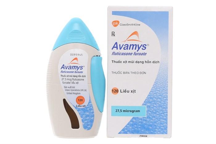 Thuốc xịt mũi Avamys