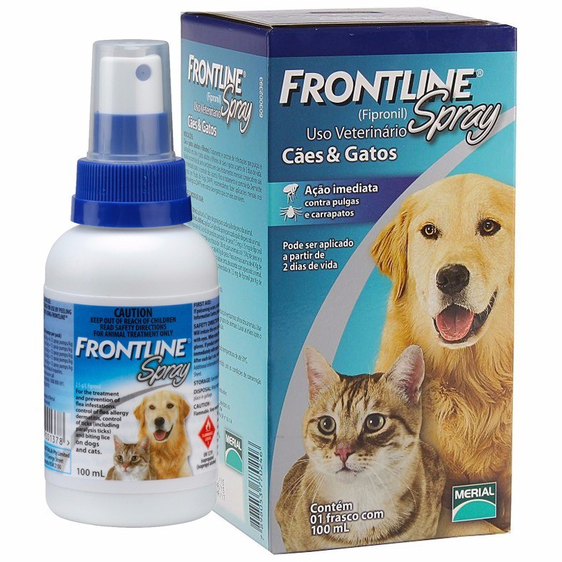 Thuốc xịt ve chó Frontline Spray