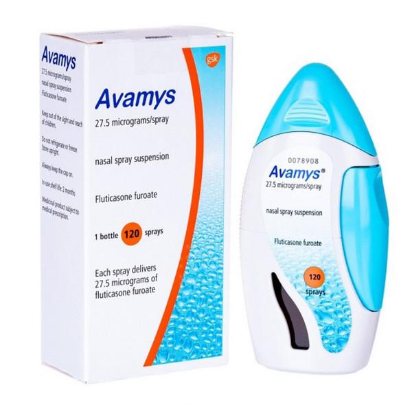 Thuốc xịt viêm xoang Avamys