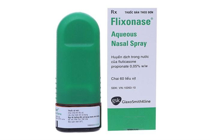 Thuốc xịt viêm xoang Flixonase