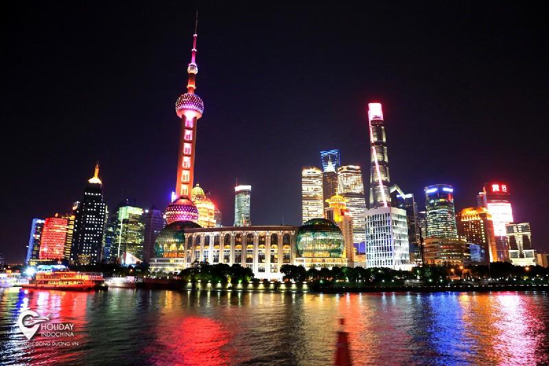Vẻ đẹp của Thượng Hải về đêm