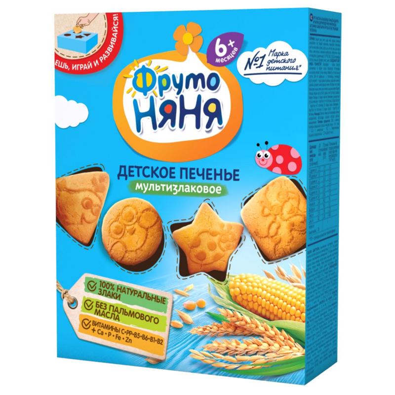 Bánh quy ăn dặm ngũ cốc Fruto Nyanya