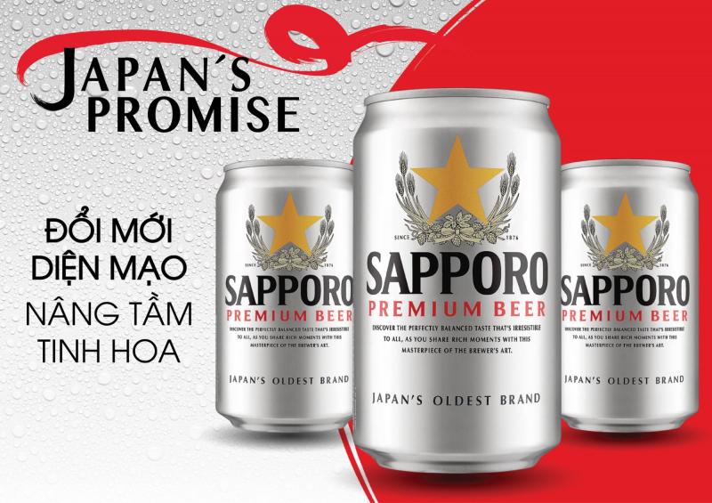 Bia Sapporo