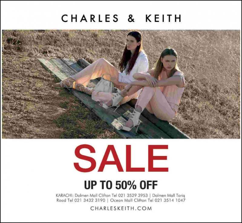Thương hiệu Charles & Keith sale