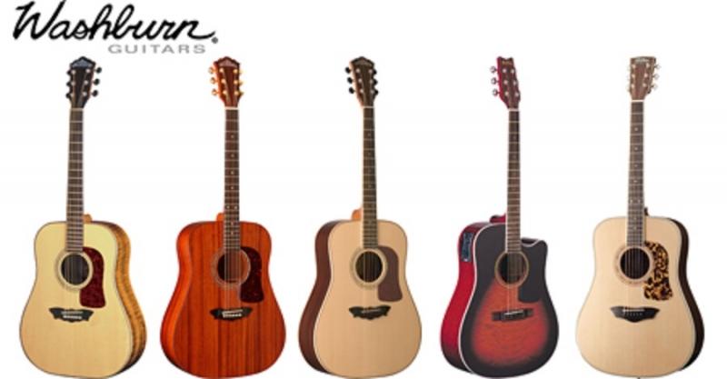 Những cây đàn guitar của thương hiệu Washburn